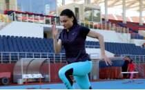 Milli atlet Melike Malkoç'un hedefleri yüksek