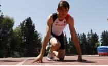 Yaz kursunda keşfedilen sprinter hedefine koşuyor