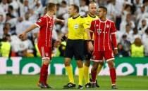 Bayern Münihli yıldızdan Cüneyt Çakır'a tepki!
