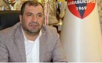 Karabükspor Başkanı Mehmet Aytekin isyan etti