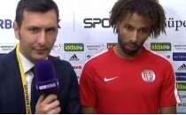 Maç sonunda yapılan gülme garantili Sangare ve Harun röportajı