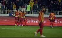 Malatyaspor kupada avantajı kaptı