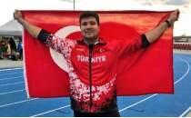Milli sporcu Alperen Karahan'dan bronz madalya